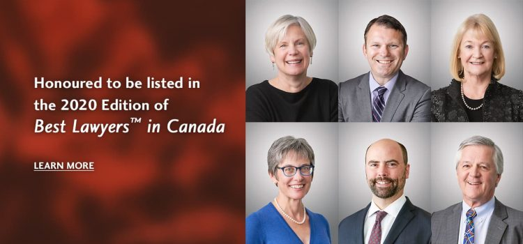 Six Pulver Crawford Munroe LLP Lawyers Recognized in Best Lawyers in Canada