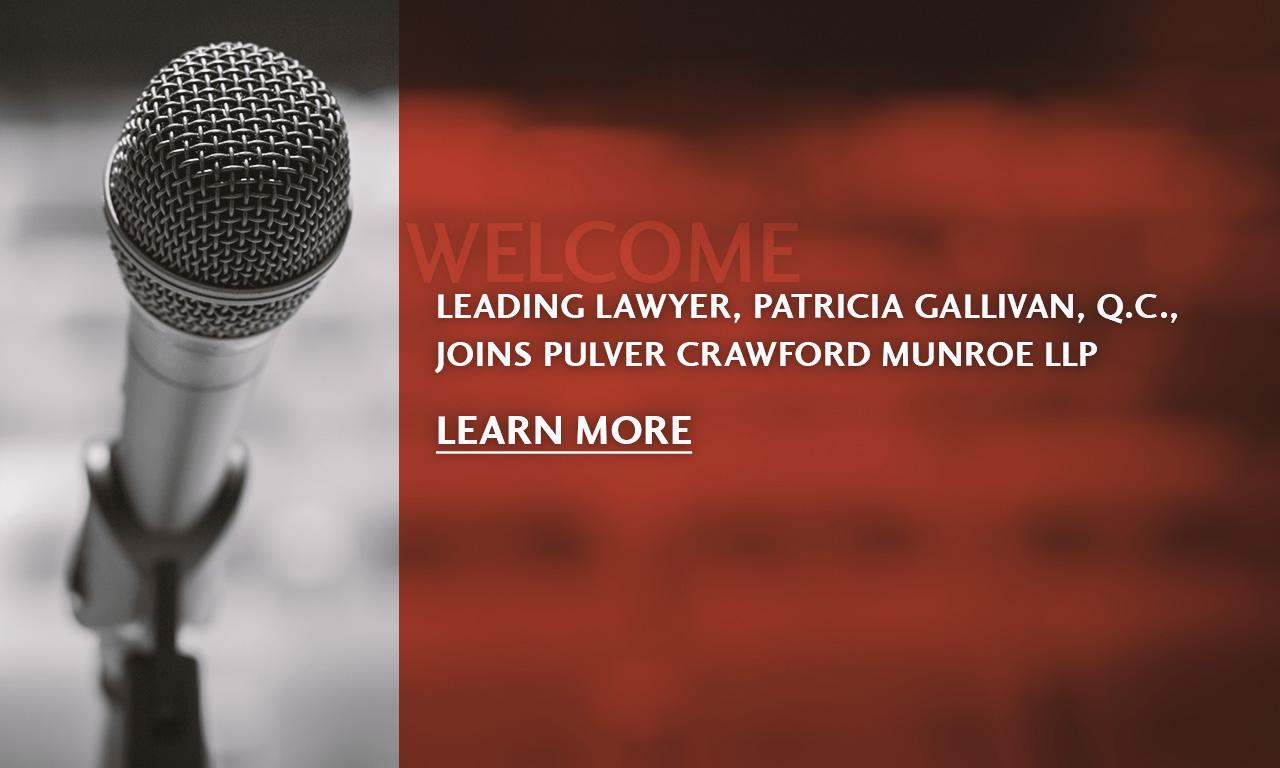 Pat Gallivan Announcement